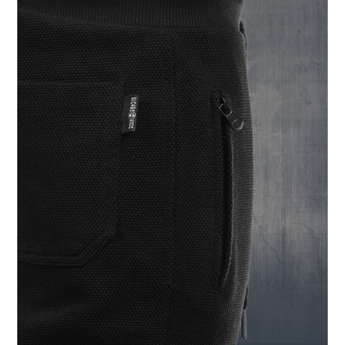 WickedKnot Cotton Sweat Pants - Black