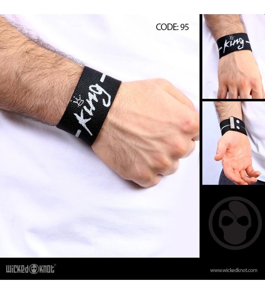 King Cotton Wide Bracelet
