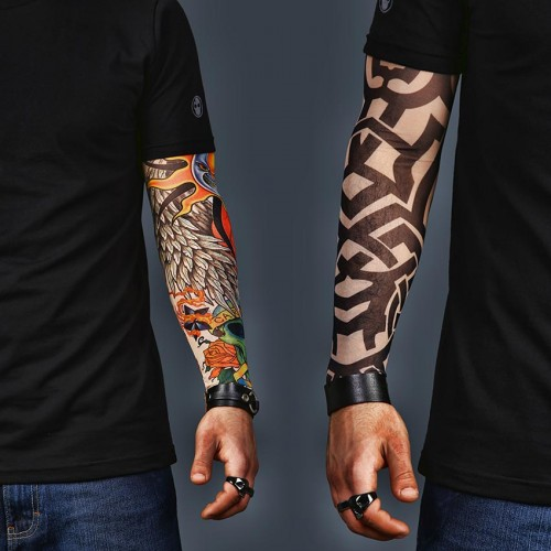 A Set of 2  Tattoo Sleeves - Celtic and Colorful