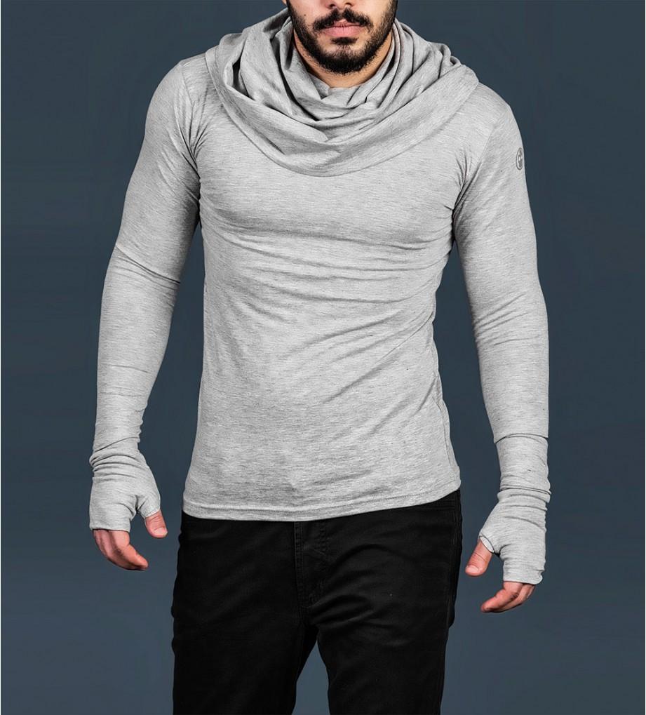 d533366b84ba64 turtle neck Hoodie undershirt avant garde wickedknot Gray 6-921x1019.jpg