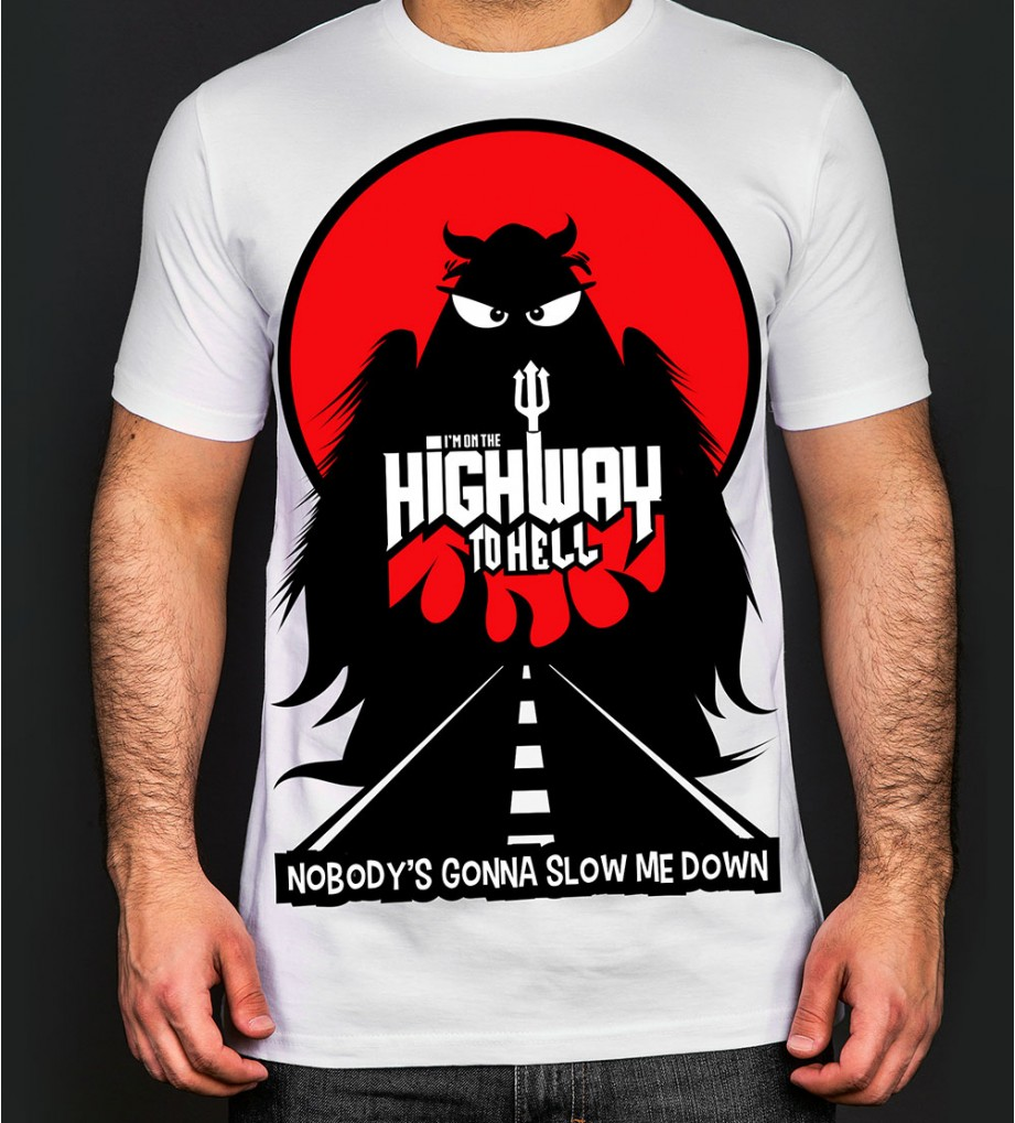 Highway to Hell - White