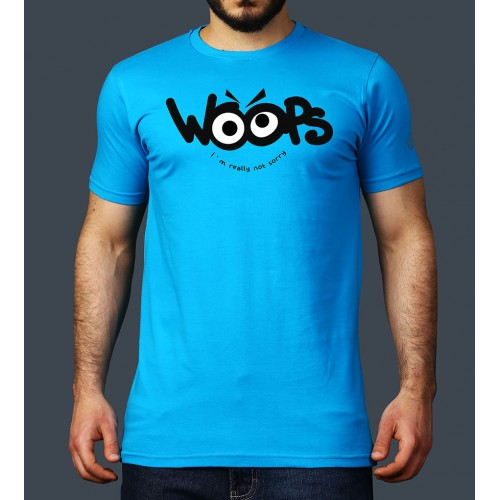 Woops- Turquoise- TShirt