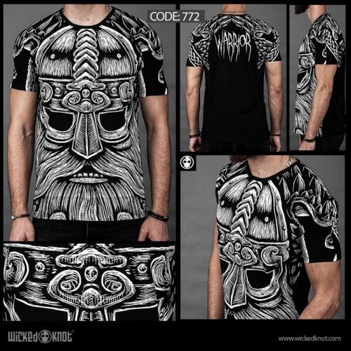 Warrior Full Cover T-Shirt