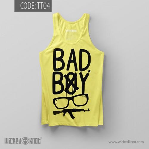 Bad Boy Light Yellow Top Tank