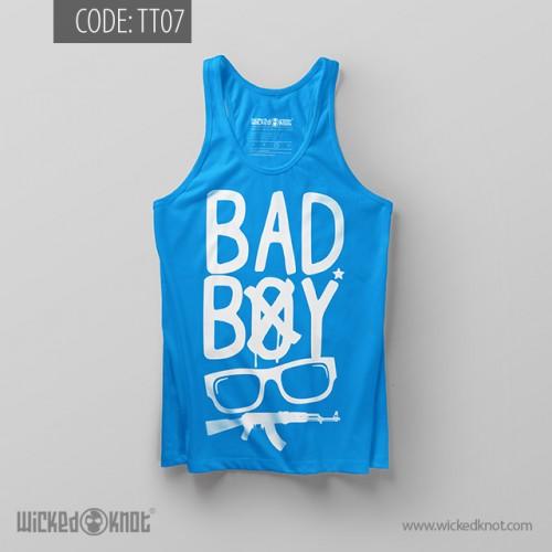 Bad Boy Azure Blue Top Tank