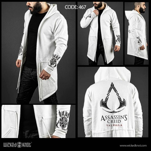 Assassin's Creed Valhalla Off White Hoodie