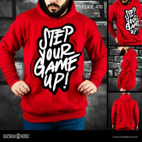 Step your Game Up Hoodie