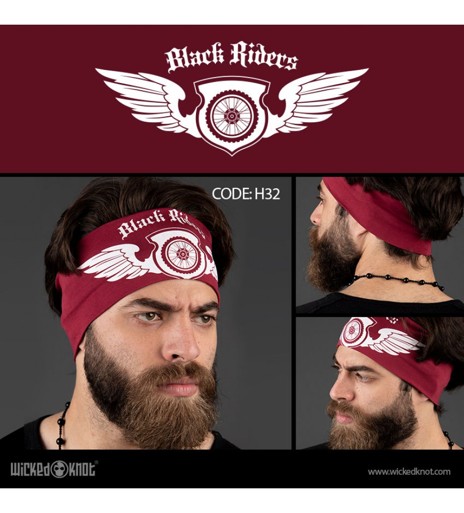 Black Riders HeadBand