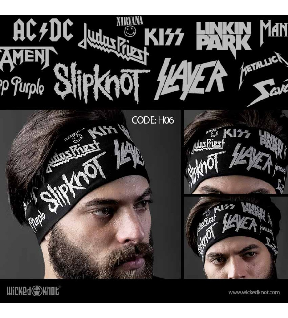 Rock Bands Head Band