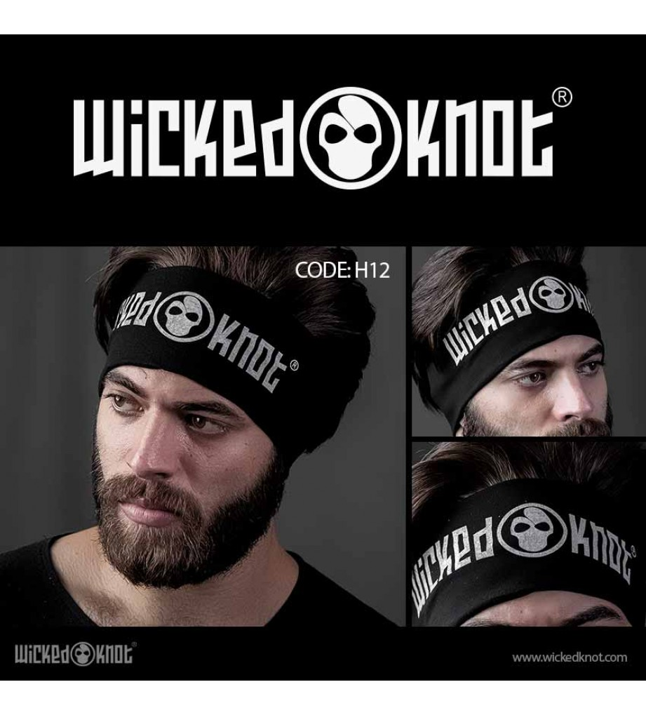 WickedKnot Logo Head Band