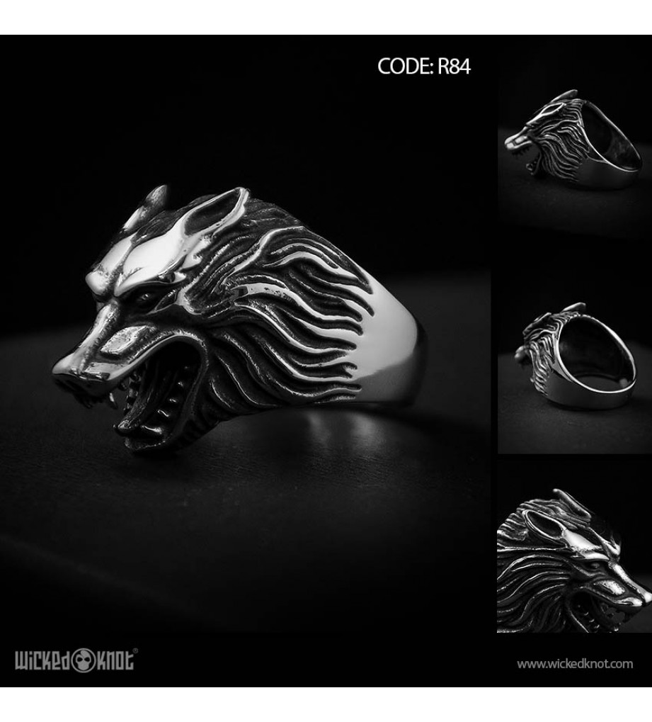 Alpha- Stainless Steel Ring