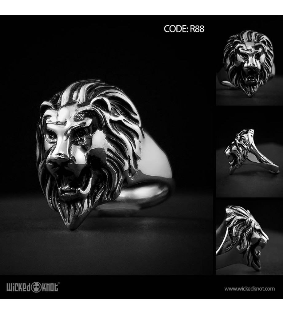 Brave- Stainless Steel Ring