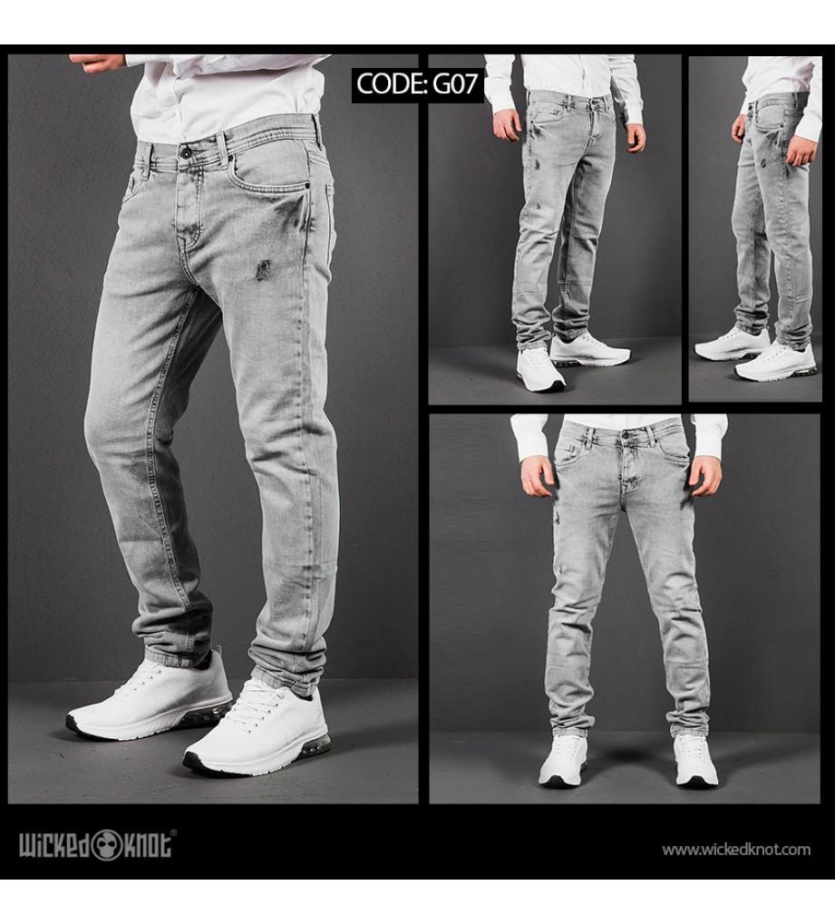 WickedKnot Gray Jeans