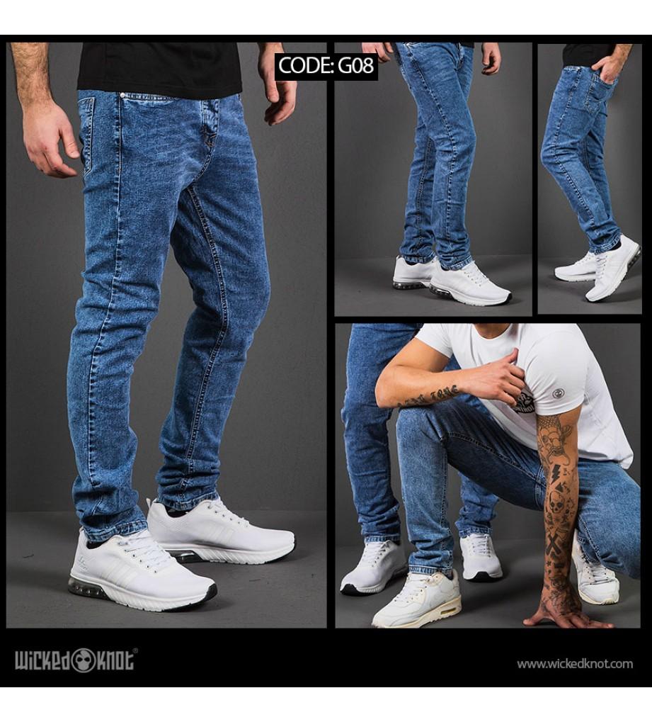 WickedKnot Original Blue Jeans