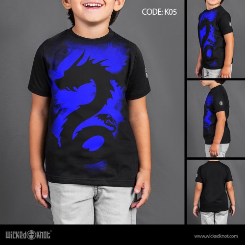 Blue Dragon - Boys T-Shirt