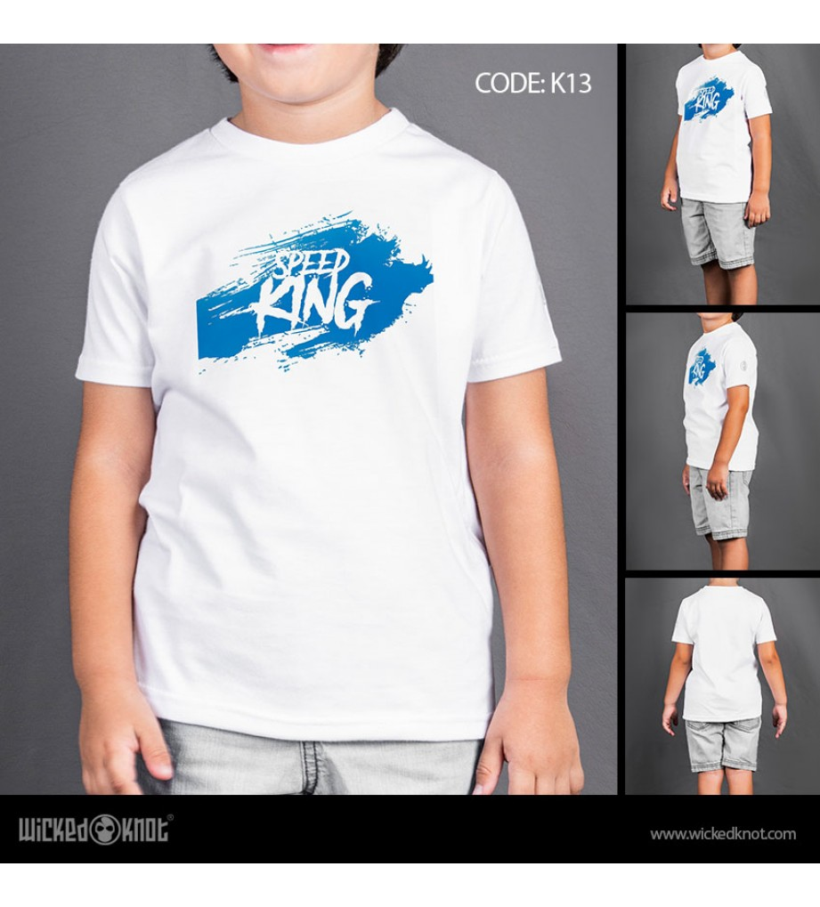 Speed King - Boys T-Shirt
