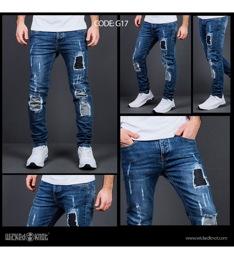 WickedKnot Ripped Jeans