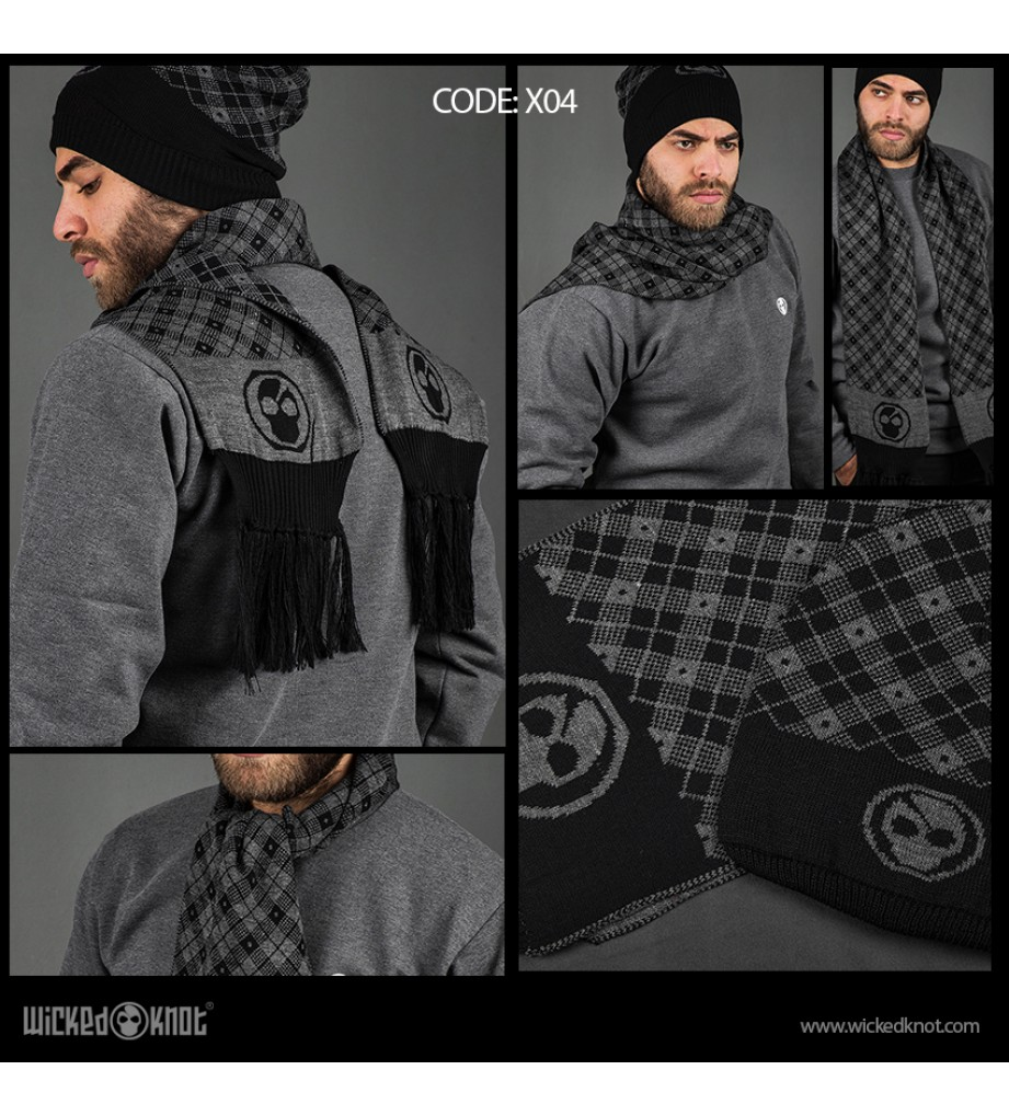 Checkers Branded Scarf & Ice Cap Bundle