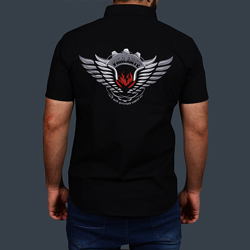 Vigilante Half Sleeve Shirt