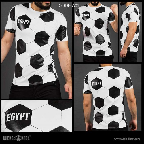Soccer Ball Pattern Top